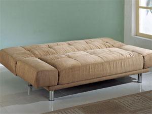 Sylvia Click Clack Microfiber Futon Bed