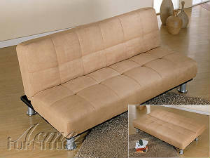 Joseph Microfiber Adjustable Sofa