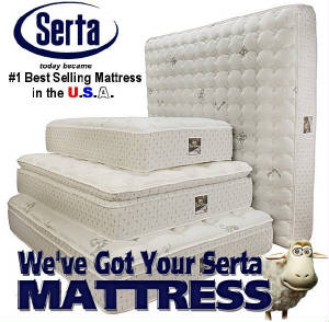 We've Got Your Serta Mattress