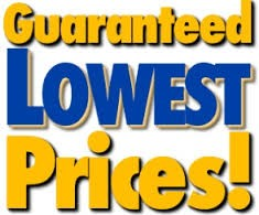 Guaranteed Lowest Prices!