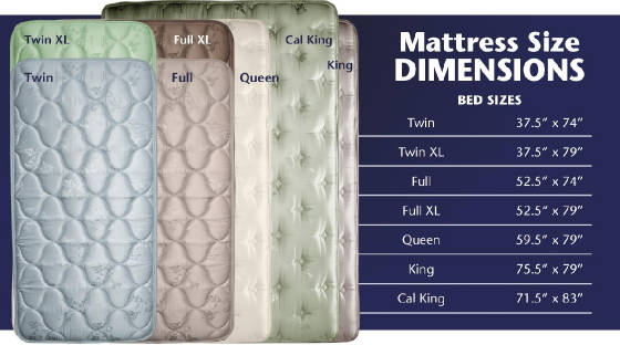 Mattress Size Dimensions