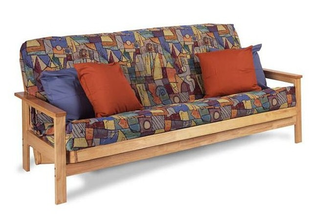 Hardwood Futon Frame and Mattresses